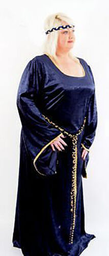 MEDIEVAL-SCA-HISTORICAL-RE ENACTMENT-LARP-COSPLAY Plus Sized Medieval Lady