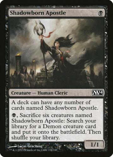 Shadowborn Apostle Magic 2014 Core Set Common en Presque comme neuf MTG