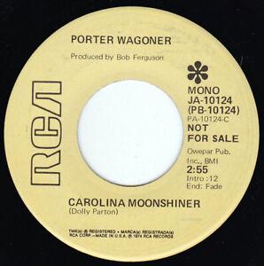 "PORTER WAGONER - Carolina Moonshiner 7"" 45"