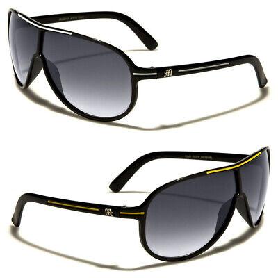 27784020b222 Details about Men Women Retro Aviators Sunglasses Plastic Discount Designer  Pilot Shades Black
