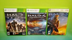 Details about Halo 3 + Halo 4 + Halo Reach - Microsoft Xbox 360 Games -  Tested