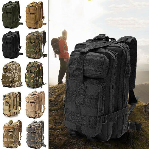 MILITARY 30 LITRE RUCKSACK MOLLE BAG BRITISH ARMY HIKING DAYSACK CADET MTP CAMO