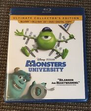 Monsters University (Blu-ray 3D + Blu-ray + DVD + Digital Copy) Disney