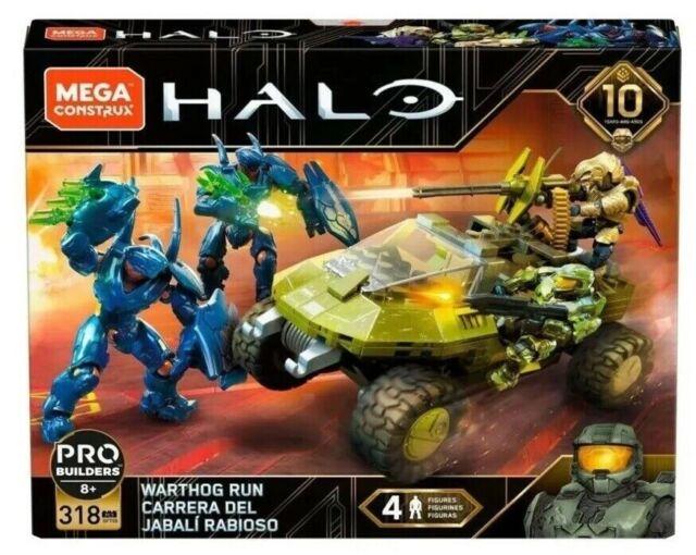 HALO Warthog Run *10th Anniversary* (GFT55) 318 pcs MEGA CONSTRUX RARE! LQQK!