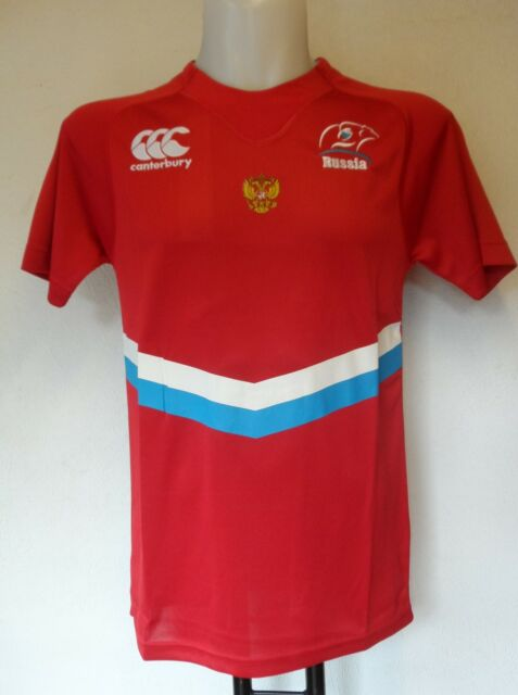 RUSSIA RUGBY 2014/15  HOME PRO SHIRT BY CANTERBURY ADULTS SIZE SMALL BRAND NEW