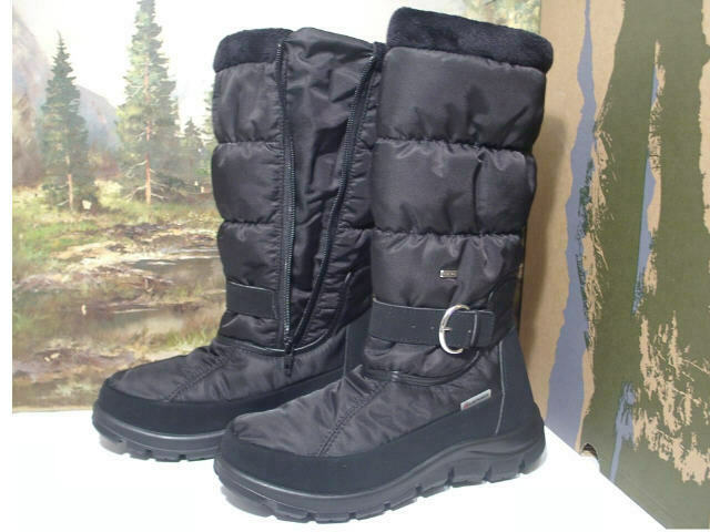 Lackner Stiefel Sympa Tex Boots Winter Damenschuhe Schwarz 36-42 7756 Neu18