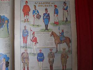 Corriere Dei Piccoli Originale Anni '30 L'esercito Argentino