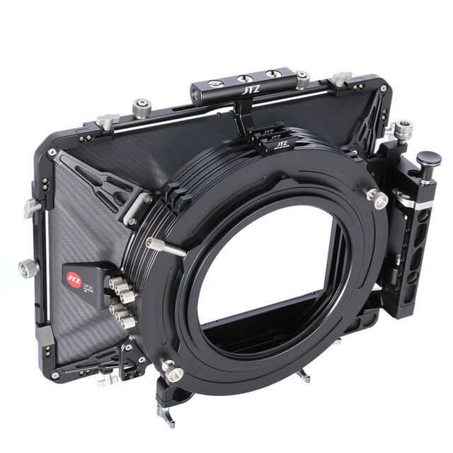 "JTZ DP30 Carbon Fiber 6""x6"" Matte Box 15mm/19mm for Sony RED ARRI CANON EOS"