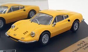 Vitesse-coche-modelo-escala-1-43-017-1968-Ferrari-Dino-246GT-Amarillo