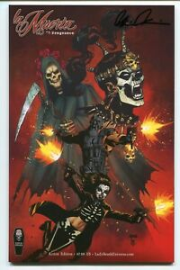 La-Muerta-Vengeance-1-Action-Edition-Variant-Cover-by-Joel-Gomez-Signed-Pulido