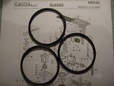 3x GAGGIA CLASSIC BABY EVO TEBE CALDAIA GUARNIZIONI O-RING EPDM 1st Class dm0041 / 082