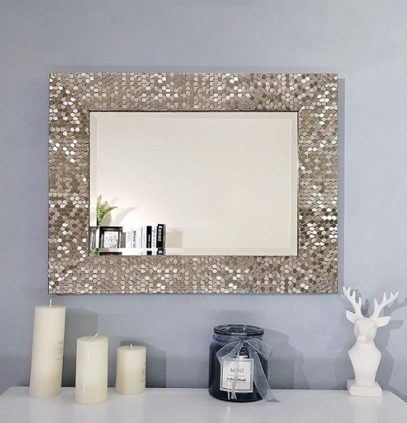 Bathroom Wall Mirror Blue Harbor 33 25