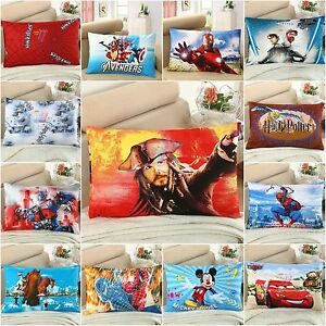 Marvel-Superhero-Two-Pillow-Cases-100-Cotton-Standard-Queen-Size-Pillow-Covers