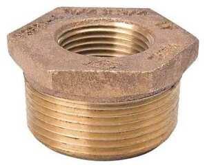 Zoro-Select-22Ul45-2-034-Fnpt-X-1-034-Mnpt-Brass-Bushing