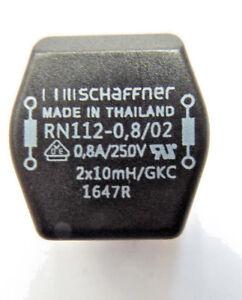 RN112-0-8-02-Schaffner-Soffocare-COM-asimmetrico-Mode-2X10MH-0-8A