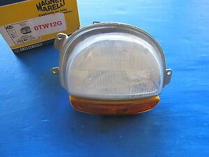 Optique-de-phare-droit-avec-clignotant-ambre-Magneti-Marelli-pour-Renault-Twingo