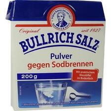 Bullrich Salz Pulver gegen Sodbrennen, 200g