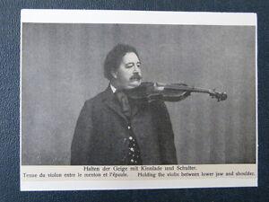 Handmade-musica-Saluti-CARTOLINA-CON-VIOLINO-A