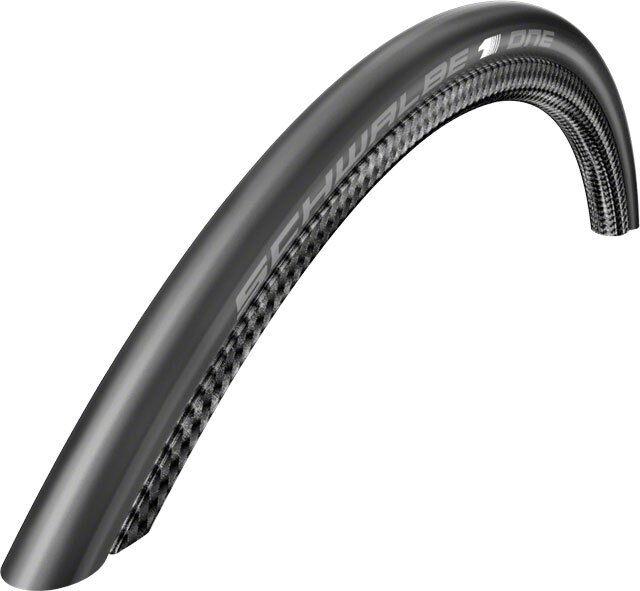 Bicicleta de Carretera Bicicleta Schwalbe One Negro Remachador Neumático Negro One - 700 X 25 C 9cbd93