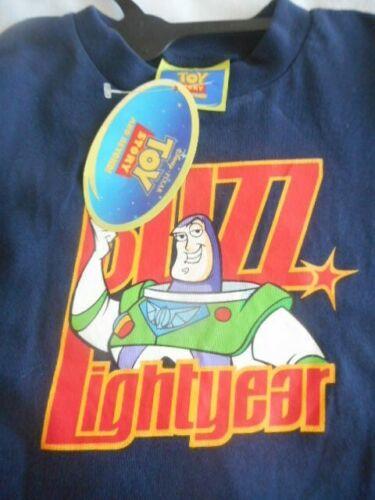 BNWL NAVY DISNEY BLUE BUZZ LIGHTYEAR SHORT SLEEVED BOYS COTTON T SHIRT AGED 7-8