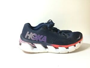 Rare-Hoka-One-One-Womens-Running-Sneaker-Shoes-F27218K-Navy-Blue-Size-US-8