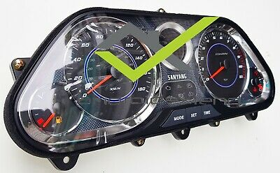speedoMeter Lens PN 37119-L4A-000 2012-2014 OEM SYM Maxsym 400 I