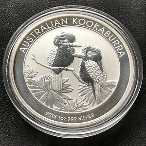 2019 Australian $1 Emu 1oz .999 Silver Bullion Coin From Roll Perth Mint BU