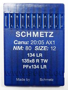 Schmetz Maschinennadel Rundkolben Leder Stärke 80-120