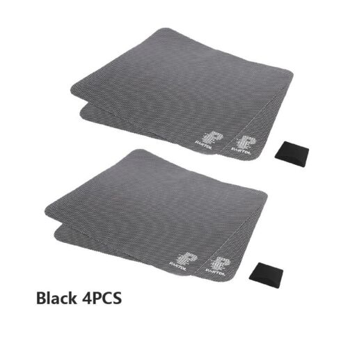 Partol 42x38cm 4pcs//2pcs Auto Sunshade Window Protection Covers Black PVC