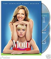 Mom (anna Faris) Complete 1st First Season 1 One Brand 3-disc Dvd Set