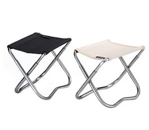 Folding Travel Chair Outdoor Foldable Stool Portable Chair
