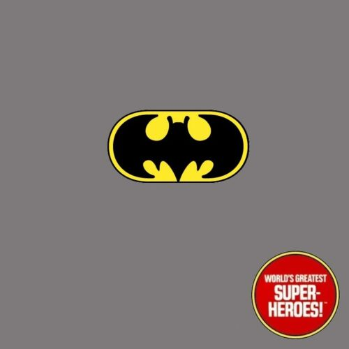"""Mego Batman Vinyl Die Cut Repro Decal Emblem Sticker WGSH 8"""" Action Figure"""