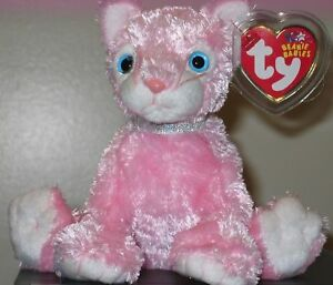 Image is loading Ty-Beanie-Baby-CARNATION-the-Cat-6-Inch- d7f371eebc43