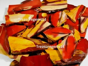 1250-Crt-SUPERB-NATURAL-RED-YELLOW-MOOKAITE-JASPER-ROCK-ROUGH-SLAB-TILE-GEMSTONE