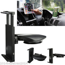 360°Rotatable Car Dash Suction Mount Holder Stand Cradle For iPad Sumsang Tablet
