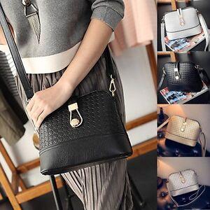 New-Women-Purse-Leather-Shoulder-Bags-Handbag-Tote-Messenger-Hobo-Crossbody-Bag