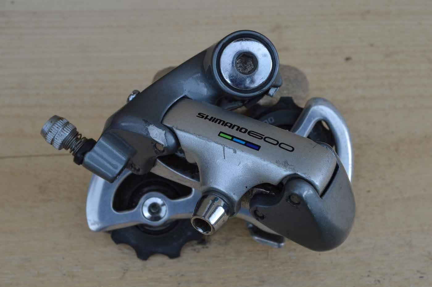 Rear derailleur bike road Shimano 600 Ultegra RD 6401 short cage 49 mm 8 speed