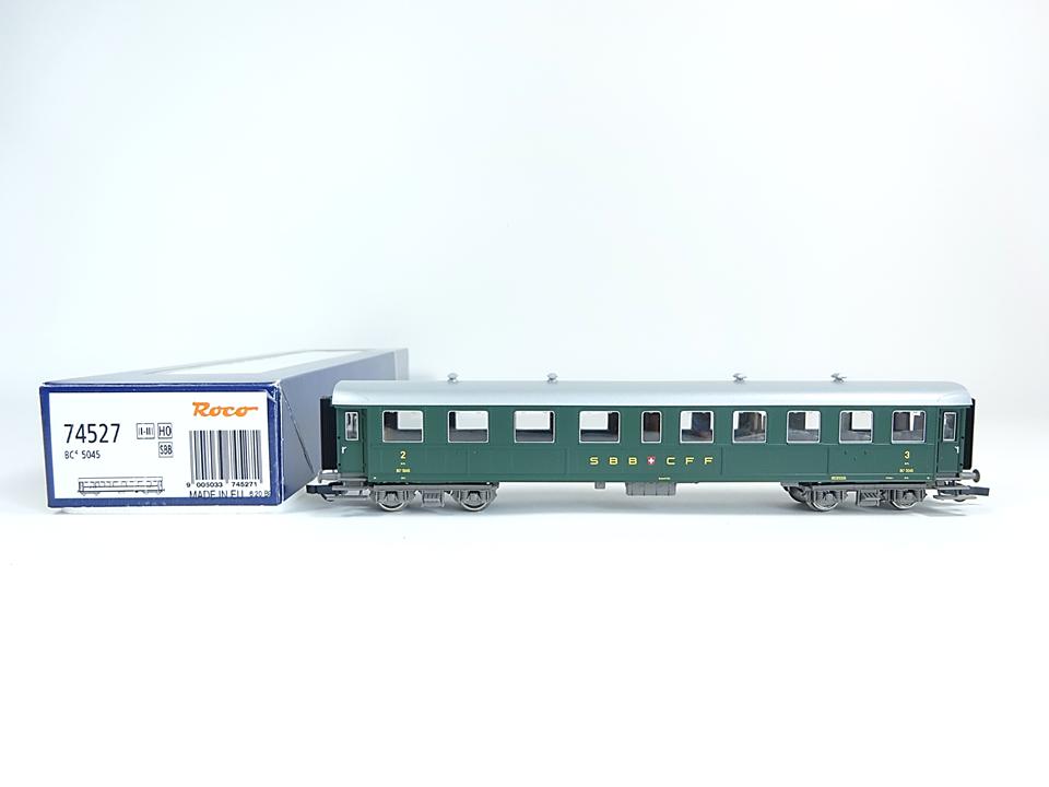 ROCO h0 74527, viaggiatori 2. 3. classe, SBB, Nuovo, Confezione Originale