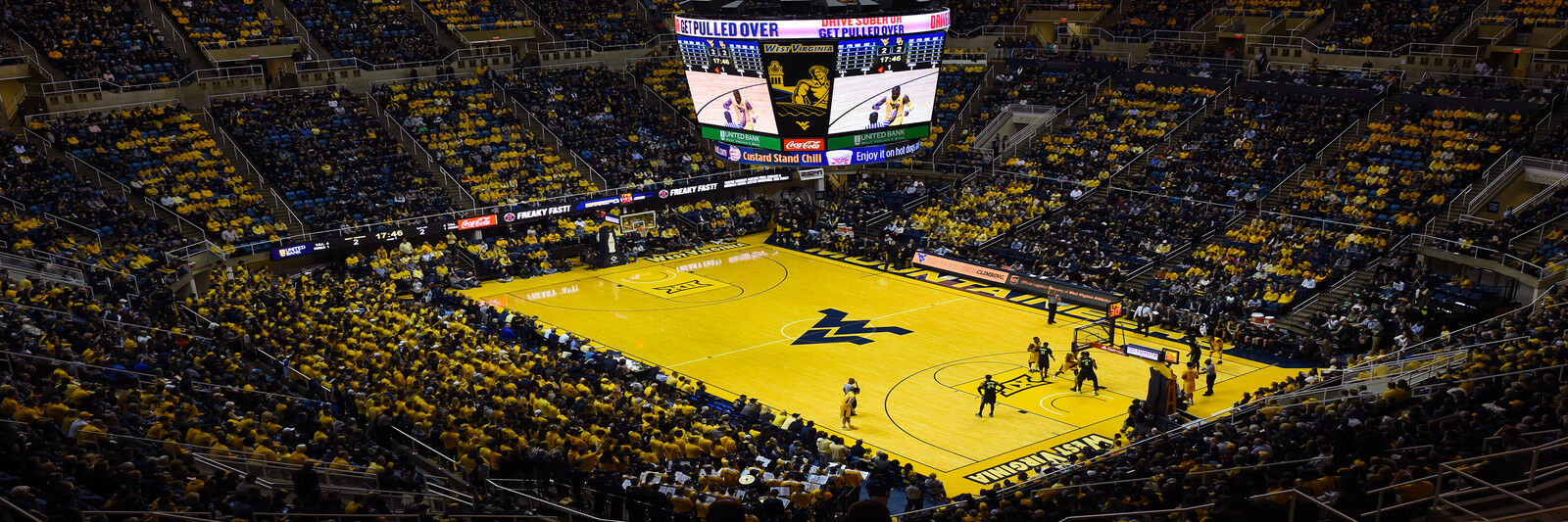 Kentucky Wildcats at West Virginia Mountaineers Basketball