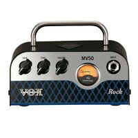 Brand Vox Mv50 Rock 50w Miniature Hybrid Tube Amp Head