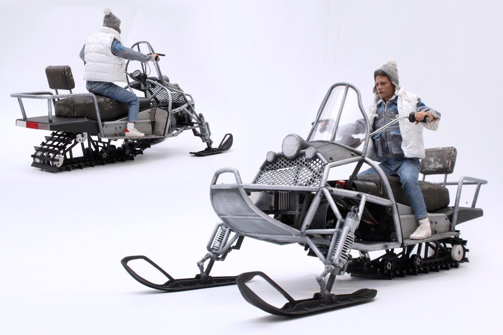 Escala 16 3D Impreso Radio Control Coleccionable de motos de nieve