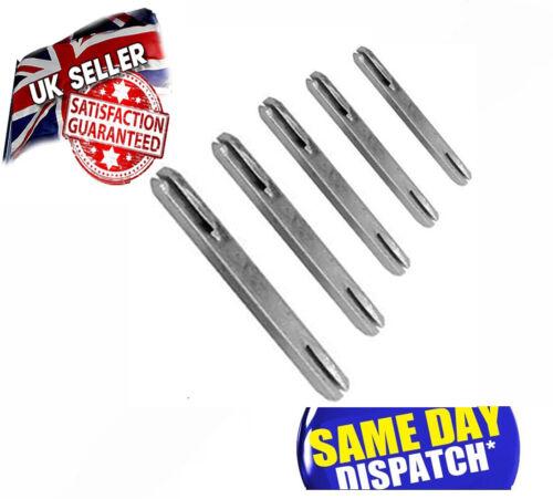 SPLIT Spindle Door Handles UPVC Door WINDOW Handle Steel BAR 7mm and 8mm