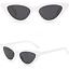 OCCHIALI-DA-SOLE-Vintage-Retro-GATTO-Cat-Eyewear-DONNA-SPECCHIO-Modello-2019 miniatura 11