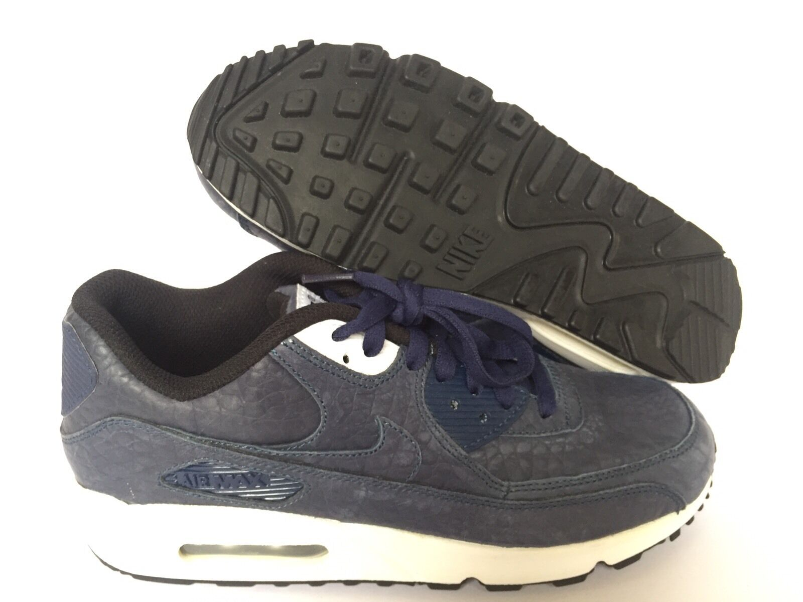 NIKE AIR MAX ID Dark Blue LEATHER [708279-991] US Uomo SZ 7.5