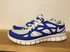 new styles 34a6e 655a6 Details about Women's Nike Free Run 2 Sprite White Royal Blue Size 10  443816-114 running shoes