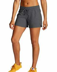 Champion Women Short Workout Authentic Jersey Athletic Drawstring Running M7417
