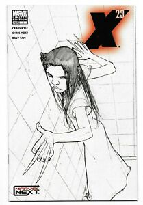 2005-X-23-Limited-Edition-Sketch-Cover-Comic-2-from-Marvel-Comics