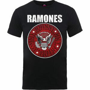 The-Ramones-Red-Fill-Seal-Official-Merchandise-T-Shirt-M-L-XL-Neu