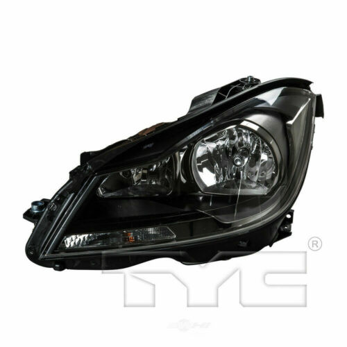 TYC Left Side Halogen Headlight for Mercedes Benz C Class Coupe 2012-2015 Model
