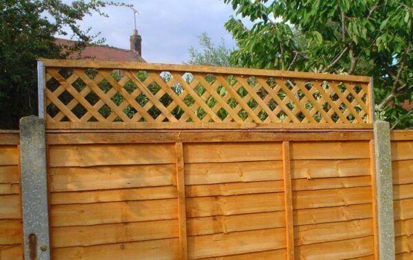 Postfix Trellis Fence Height Extension Arms Pair Ebay